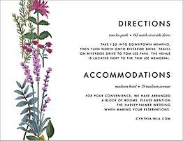Herb Garden Information Card