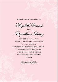 Hydrangea Lace I Wedding Invitation