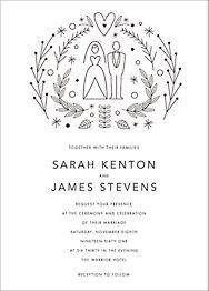 Iconic Wedding Invitation