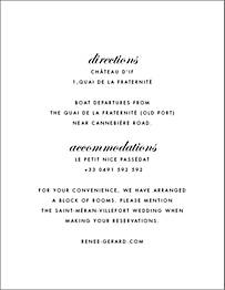 Josephine Baker Information Card