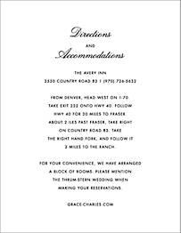 La Pavillion II Information Card