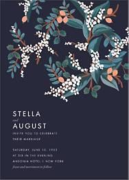 Mandarin Grove Wedding Invitation