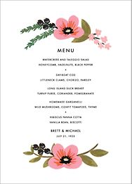 March Herbarium Menu