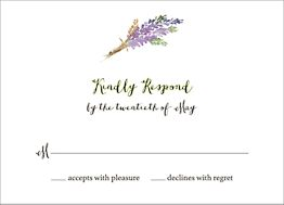 Mountain Scene Response Card