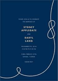 Nautical II Wedding Invitation