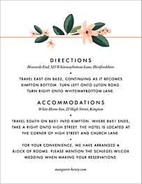 November Herbarium  Information Card