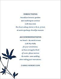 Oliver Park II Information Card