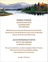 Oneida Information Card