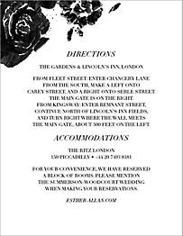Painterly Blooms Information Card
