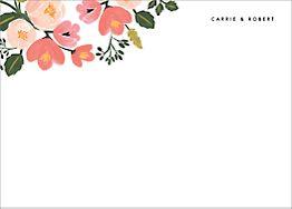 Pastel Petals Stationery