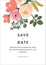 Pastel Petals Save The Date