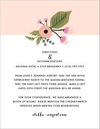 September Herbarium Information Card