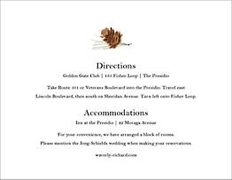Sequoia Information Card