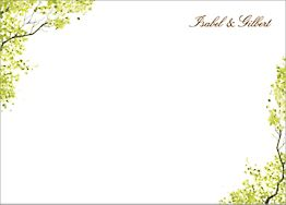 Spring Orchard Stationery