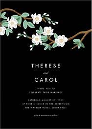 Tea Tree Wedding Invitation