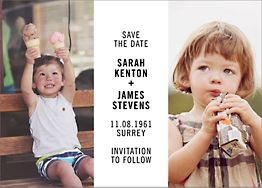 Then and Now Save The Date