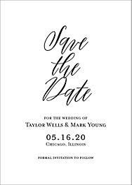 Overlay Save The Date