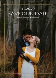 Duo Border Save The Date