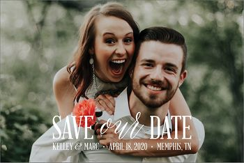 Save Our Date Postcard Save The Date