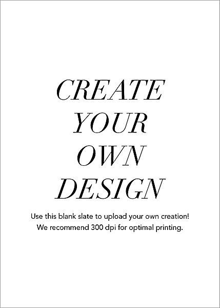 Upload Your Own Horizontal Design
