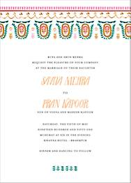Miss Anupama  Wedding Invitation