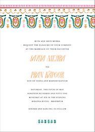 Miss Anupama  Wedding Invitation