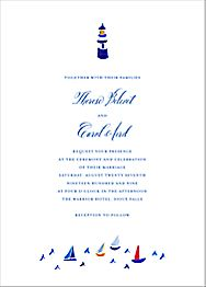 Mr. Digby Wedding Invitation