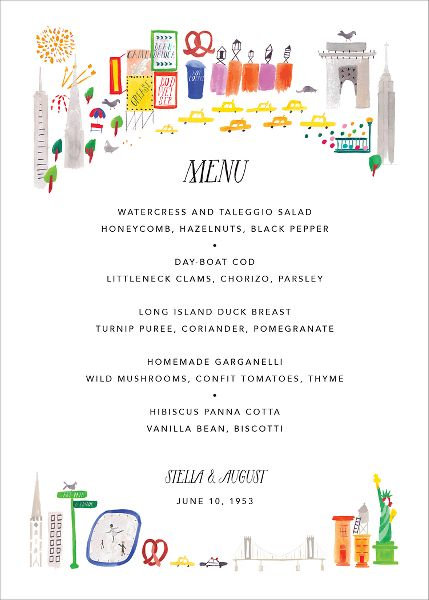 Mr. Big Apple Menu