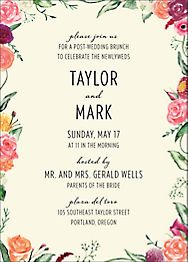 Wedding Brunch Invitations Paper Source