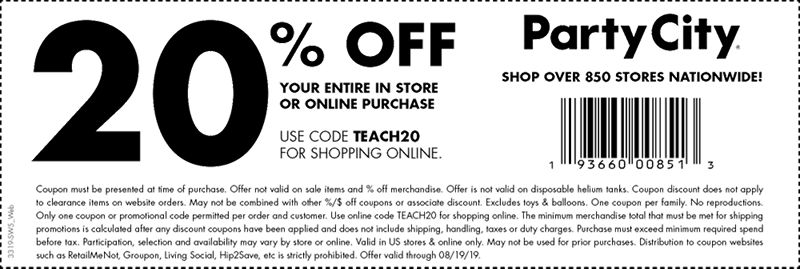 How Much Do Web Coupons Tell Retailers >> Us Swo Coupon Landing Page Party City