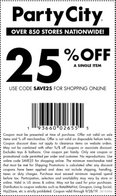 image regarding Party City Coupons Printable named US-swo-coupon-landing-website page Bash Town