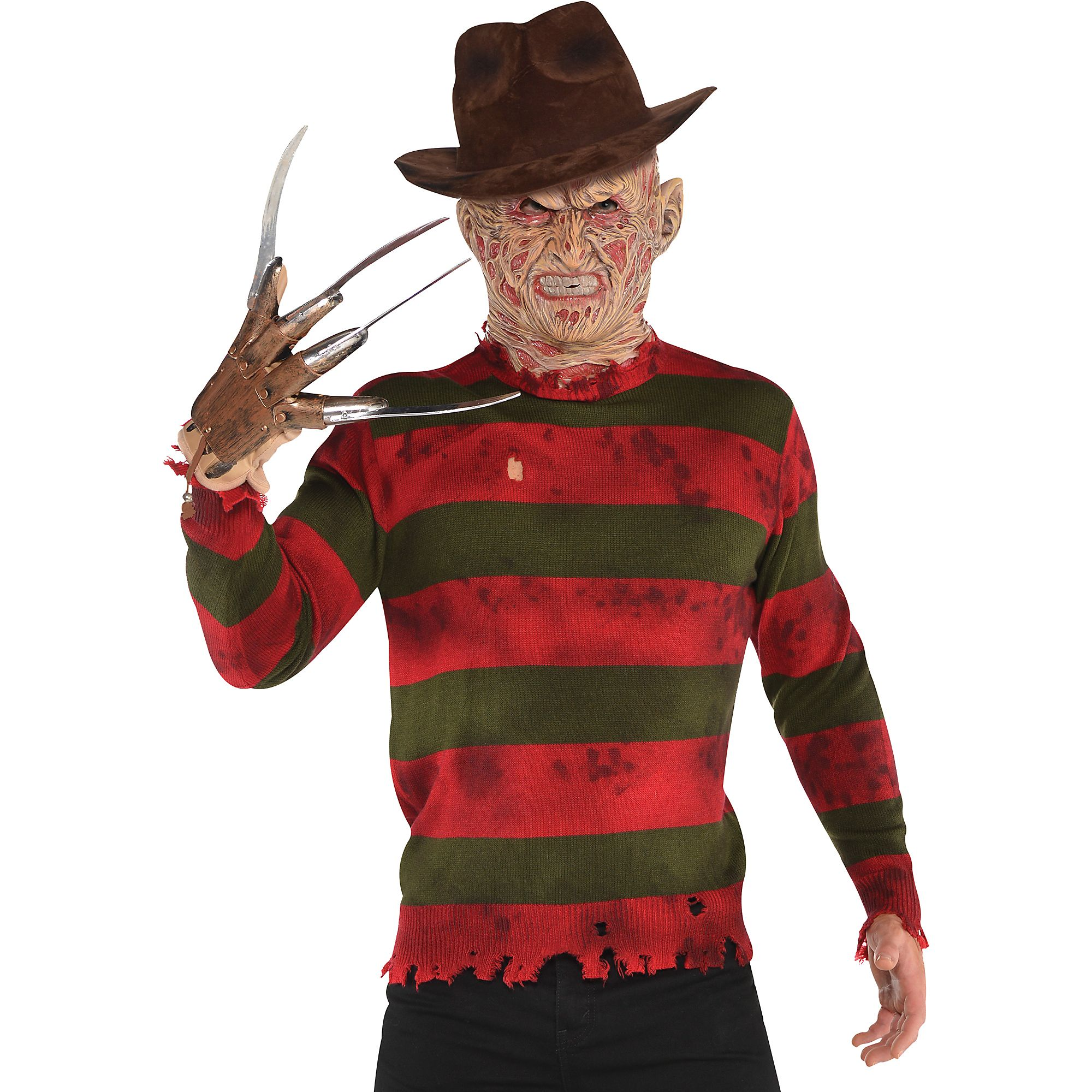 Adults Freddy Krueger Sweater Nightmare on Elm Street Red ...