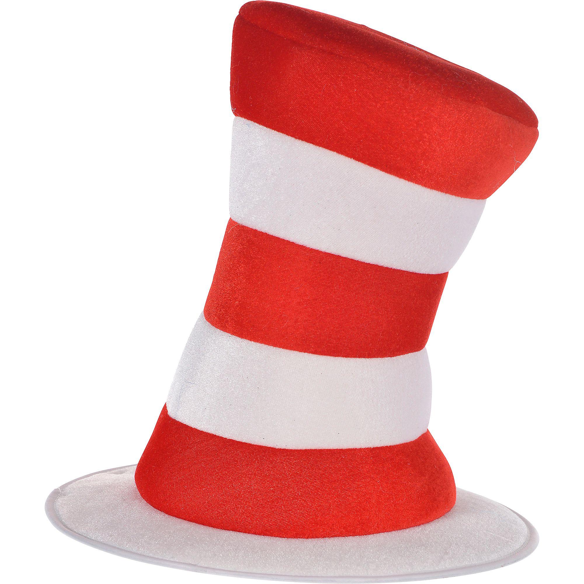 Adult Dr  Seuss Cat in the Hat Top Hat, Halloween Costume