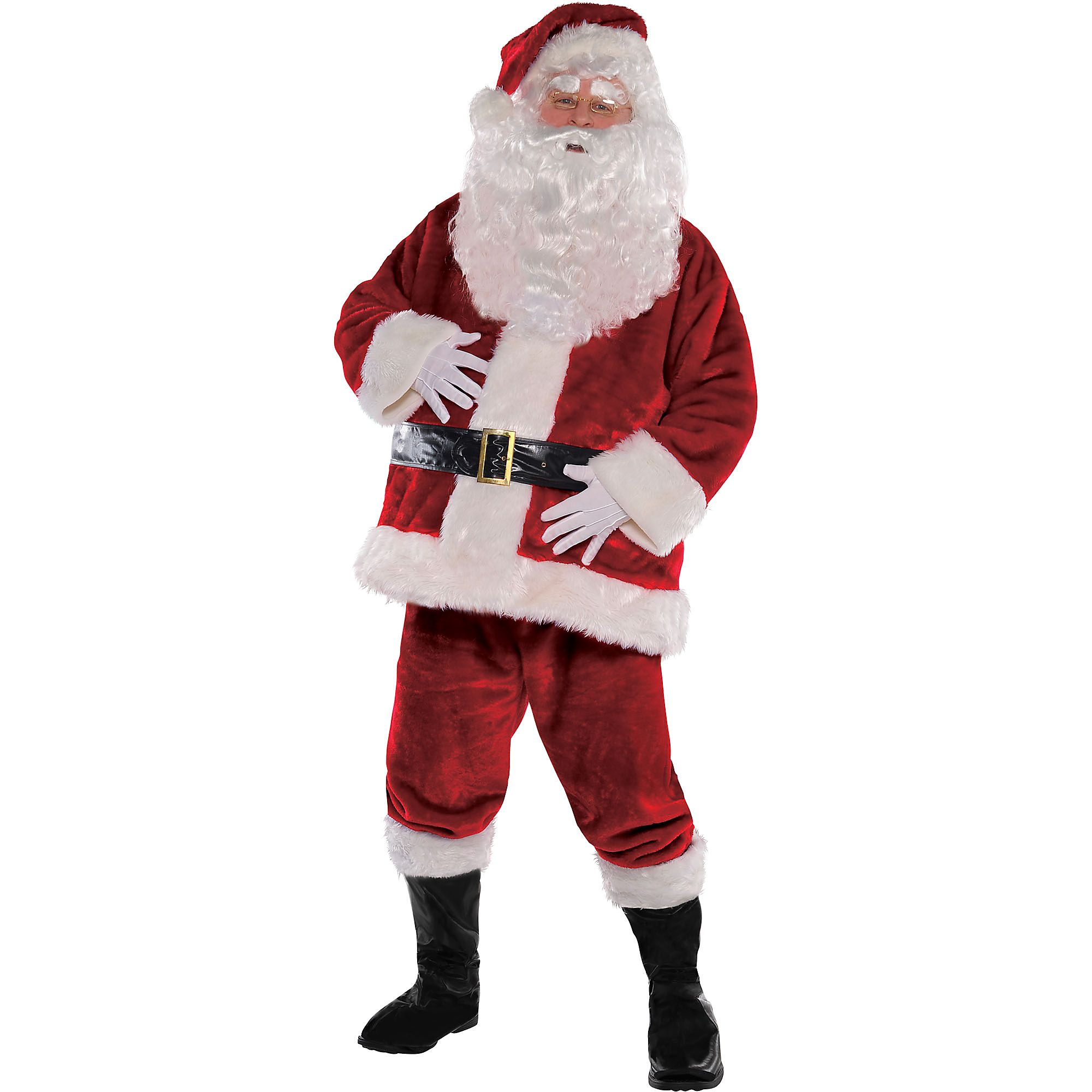 cca94f7f Royal Santa Suit for Adults, Christmas Costume, Extra Large, with  Accessories