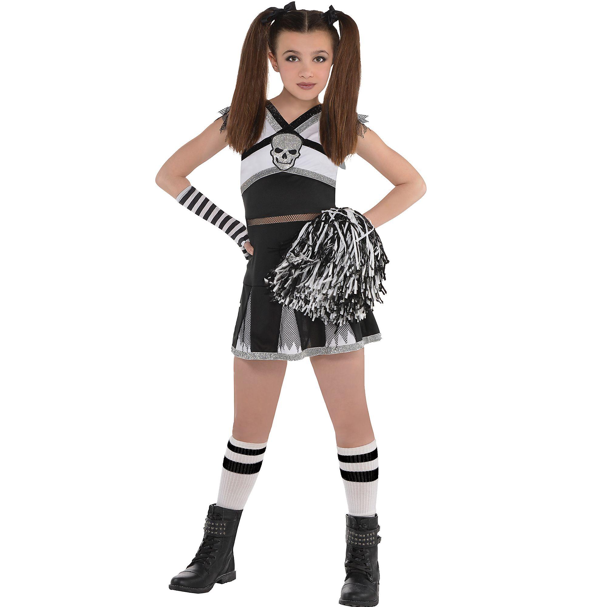 Amscan Rah Rah Rebel Cheerleader Halloween Costume For Girls Includes Arm Ebay