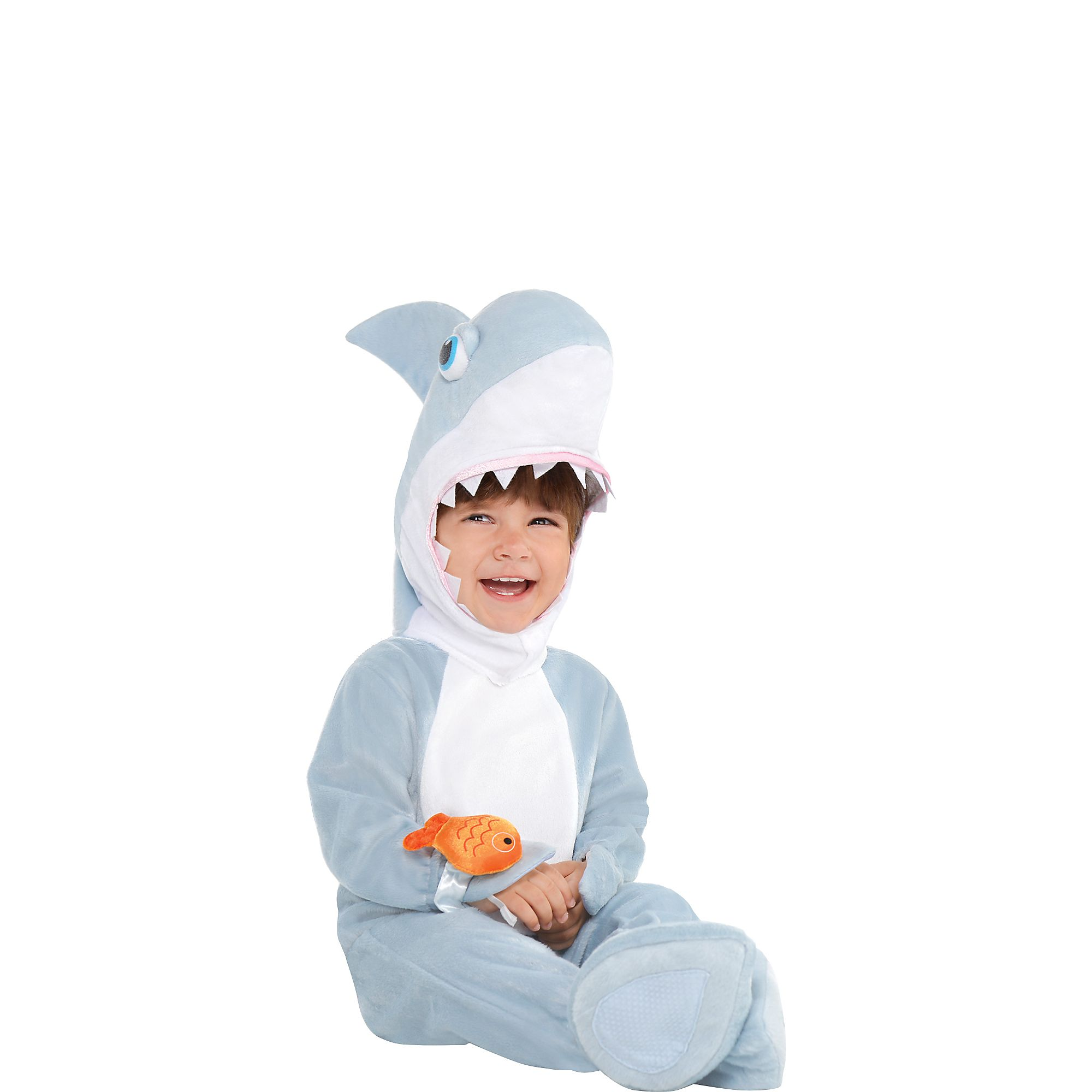 Parent-and-Baby-Shark-Costumes-Jumpsuit-and-Hat thumbnail 7