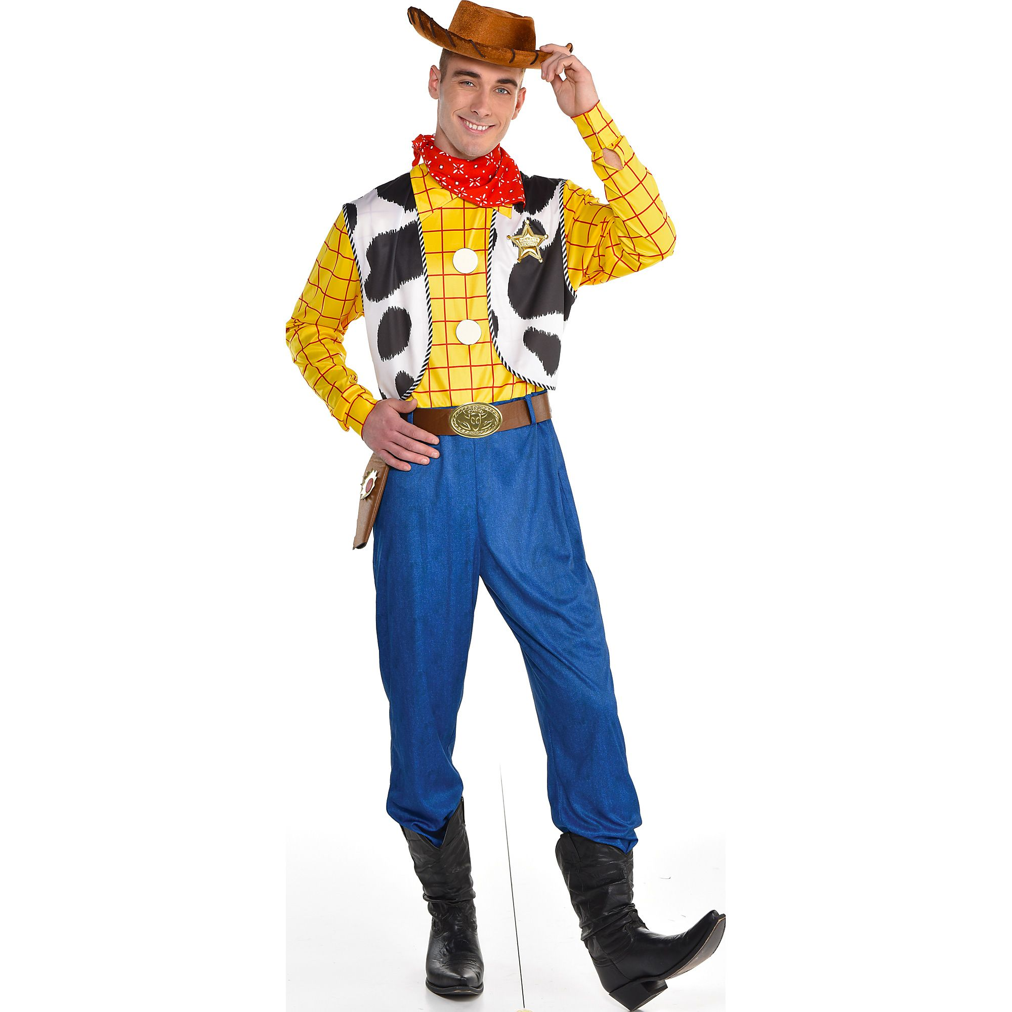 Toy Story 4 Halloween Costumes.Woody Halloween Costume For Men Toy Story 4 Standard With