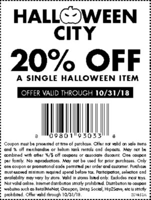 coupon code for party city costumes