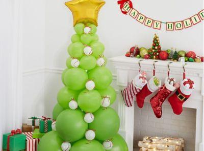 3 Diy Christmas Balloon Decoration Ideas Party City