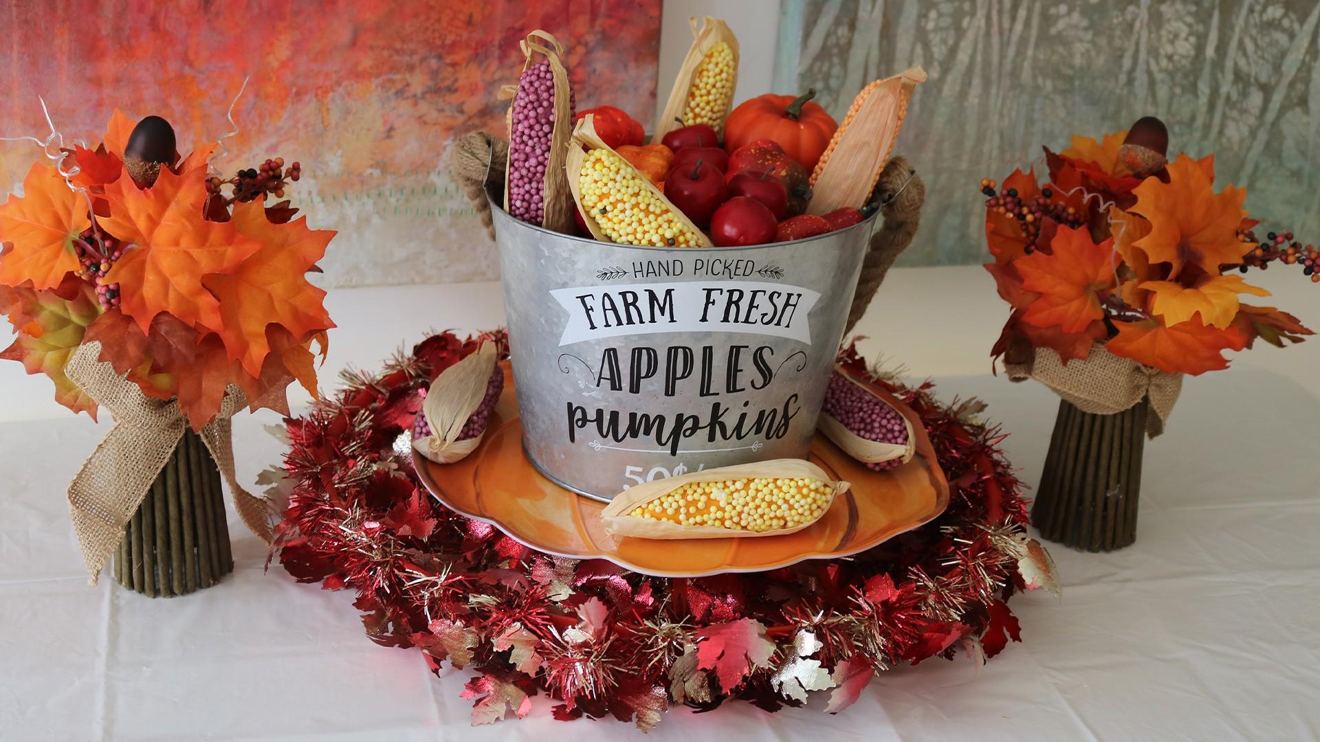 Easy Thanksgiving Centerpiece Ideas Party City
