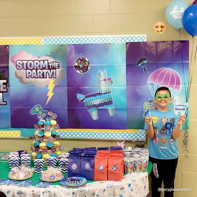 Fortnite Battle Royale Party Decorations 6 Ideas To Unlock A Winning Fortnite Birthday Party Party City