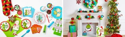 The Grinch Christmas Decorations Ideas.Grinch Christmas Decorating And Party Ideas Party City