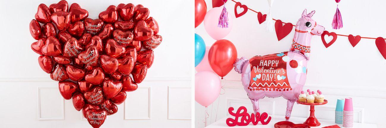 Valentine Mini Heart Printed Paper Lantern Birthday Wedding Party Decoration ~ 5