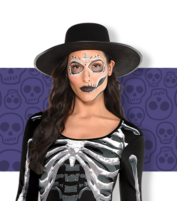 Skeleton Costumes For Kids Adults Skeleton Halloween Costumes Party City