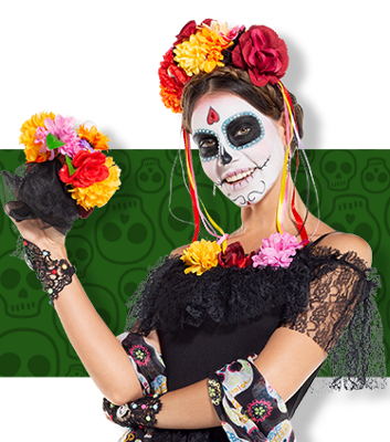 Day Of The Dead Costumes Day Of The Dead Halloween Costumes Party City