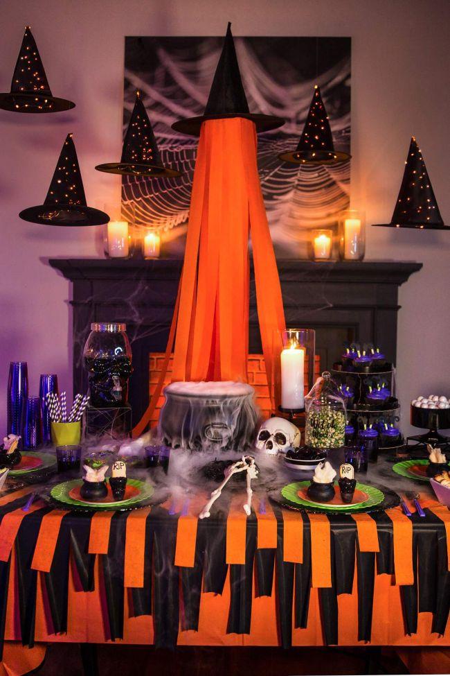 View Indoor Party Indoor Halloween Decorations PNG