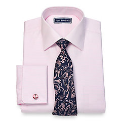 1960s – 1970s Mens Shirts- Dress, Mod, T-Shirt, Turtleneck Cotton Horizontal Stripe Dress Shirt $40.00 AT vintagedancer.com
