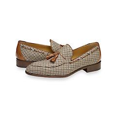 1950s Style Mens Shoes Seymour Tassel Loafer $250.00 AT vintagedancer.com
