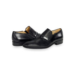 Italian Diamond Perforated Leather Loafer