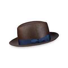 1960s Style Men's Hats Straw Fedora $60.00 AT vintagedancer.com